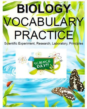 Biology: Scientific Experiment, Research, Laboratory and Principles