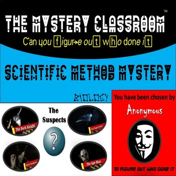 Biology: Scientific Method Mystery | The Mystery Classroom