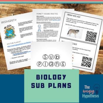 Biology Sub Plans
