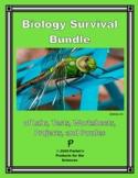 TpT Digital-Ready Biology Bundle: Labs, Tests, Worksheets,
