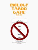 Biology Taboo Game