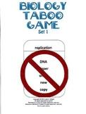 Biology Taboo Game Set 1
