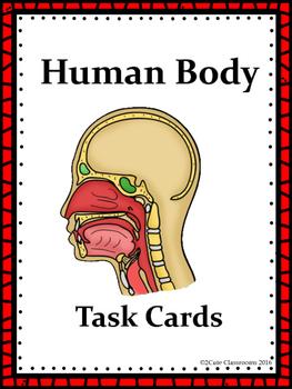 Biology Task Cards: Human Body Set 1