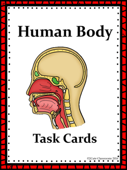 Biology Task Cards: Human Body Set 1