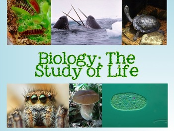 Introduction to Biology PowerPoint  Notes