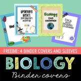 Biology Themed Binder Covers- Free version
