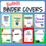 Biology Binder Covers