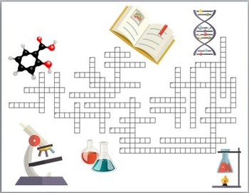 Crossword (Levels Organization, Atoms & Subatomic Particles, Reproduction, Life)