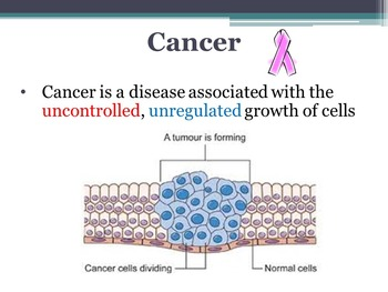 Biology Unit: Cancer - What it is, Cause, Screening, Diagnostic & Treatment
