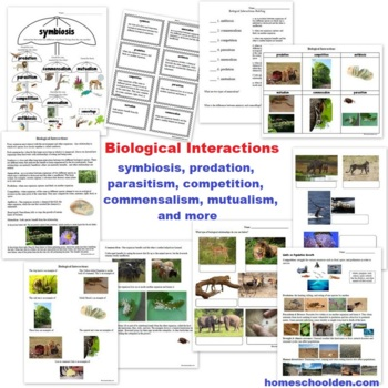 Biology Unit - The Biosphere, Biomes, Ecosystems, Biological Relationships