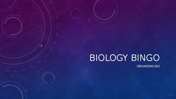 Biology Vocabulary Bingo