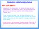 Biology Vocabulary Scramble Game: Full Year Set (24 Puzzles)
