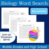 Biology Word Search [10 Printable Fun Puzzles]