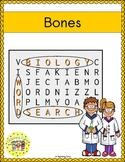 Bones Word Search