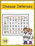 Disease Defenses Word Search