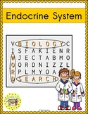 The Endocrine System Word Search