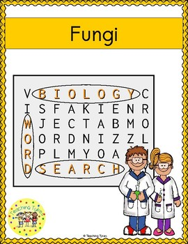 Fungi Word Search