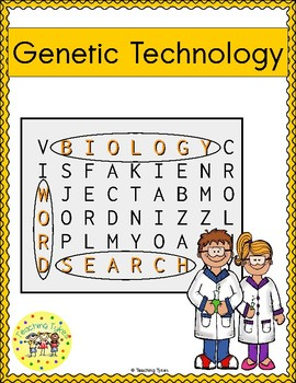 Genetic Technology Word Search