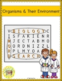 Organisms and Their Environment Word Search