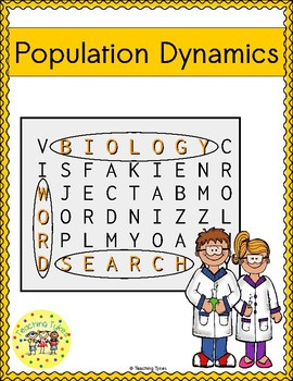 Population Dynamics Word Search