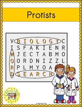 Protists Word Search