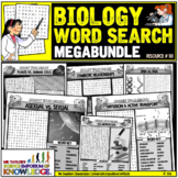 Biology Word Search Puzzle Activities