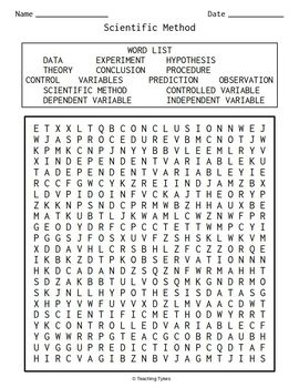 Biology Word Search Puzzles