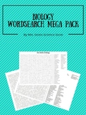 Biology Word Search Puzzles Mega Pack