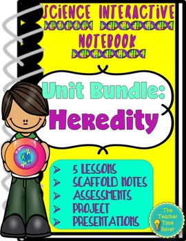 Biology or Life Science Complete Interactive Notebook- Lessons, Projects, & Test