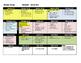 Biology Year Long Pacing Schedule