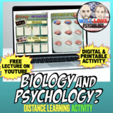 Biology and Psychology Activity