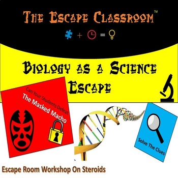 Biology as a Science Escape Room | The Escape Classroom
