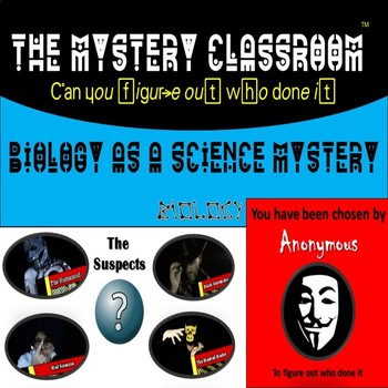 Biology as a Science Mystery | The Mystery Classroom