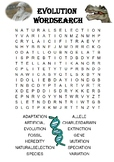 Biology word search Puzzle: Evolution (Includes answer key)