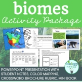 Biomes Activity Package