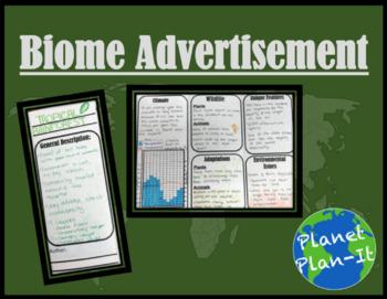 Biome Advertisement Activity