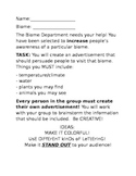 Biome Advertisement Project Direction Sheet