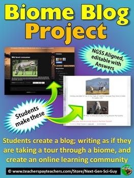 Biome Blog Project: Choose a Biome & Create a Blog