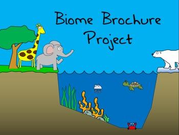 Biome Brochure Project - Exploring Earth's Biomes!