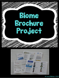 Biome Brochure Project - Teacher Travel Agency