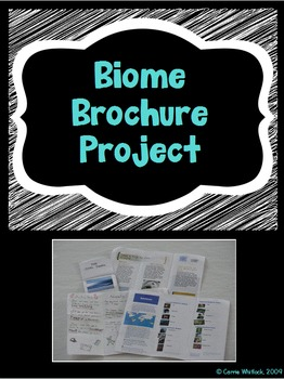 Biome Brochure Project - Teacher Travel Agency