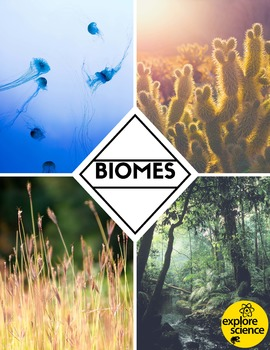Biome Bundle: Grasslands, Oceans, Deserts, & Jungles (Pre-K and K, NGSS & CC)