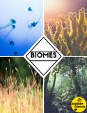 Biome Bundle: Grasslands, Oceans, Deserts, & Jungles (Pre-