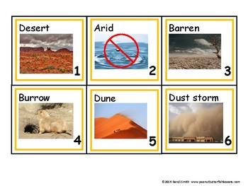 Biome Calendar Card Bundle (7 Biomes)