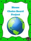 Biome Choice Board Project