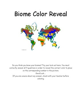 Biome Color Reveal Review