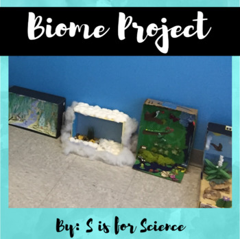 Biome Diorama Project Handouts {Biome Project Directions}