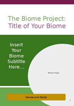 Biome EBook Template