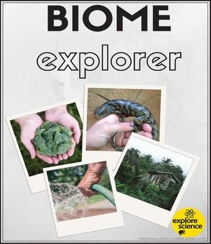 Biome Explorer Workbook (Pre-K and K)