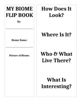 Biome Flip Book